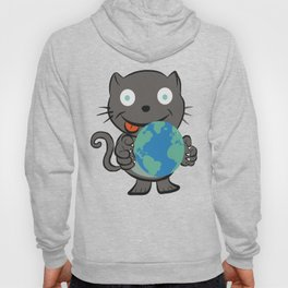 World domination cat Hoody