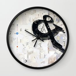 ampersand 02 Wall Clock