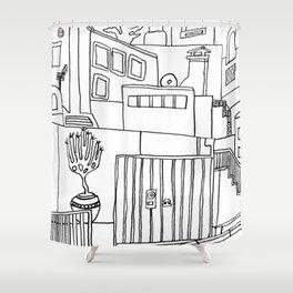 Old Town - Benalmadena Shower Curtain