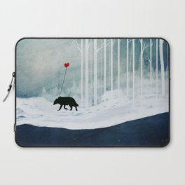 WOLF - A Love Always Carried  Laptop Sleeve