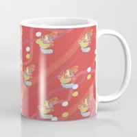 platypus Mugs featuring Platypus by Sarah Hedge