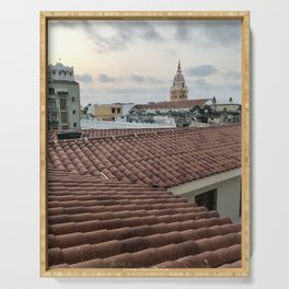 Cartagena Window Views Serving Tray