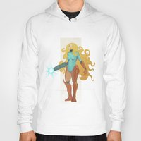 samus Hoodies featuring Samus by Tim Kaminski