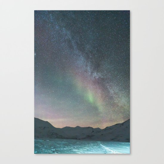 Aurora Borealis 3 Canvas Print