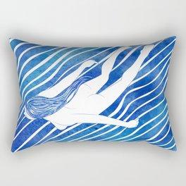 Water Nymph LXIV Rectangular Pillow