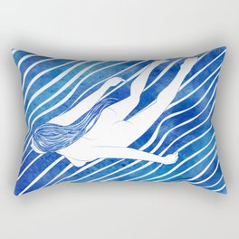 Water Nymph LXIV Rectangular Pillow