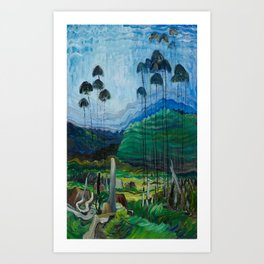 Emily Carr - Trees in the Sky - Canada, Canadian Oil Painting - Group of Seven Art Print