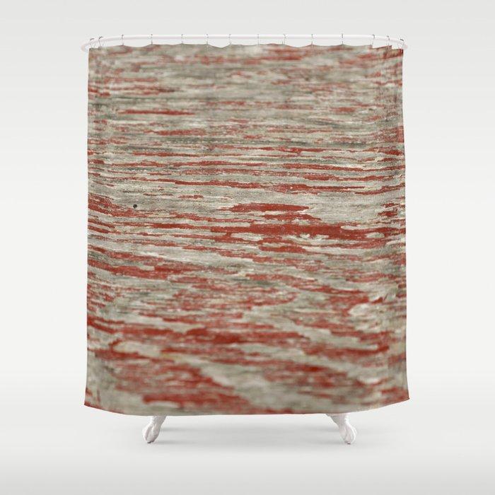 Barnwood Shower Curtain By Attemptingpatti