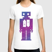 robots T-shirts featuring Robots by Scar Design