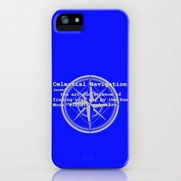Celestial Navigation Definition iPhone Case