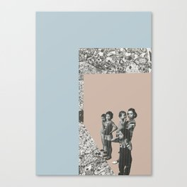 Refugees Welcome Canvas Print
