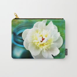 Summer White Carry-All Pouch