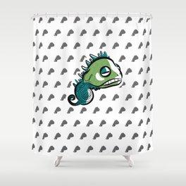 Mr. F Shower Curtain