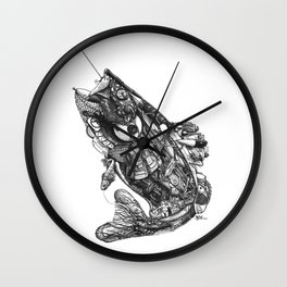 Go Fish! Wall Clock