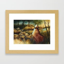 Into the Briar Framed Art Print
