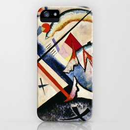 Wassily Kandinsky - White Cross iPhone Case