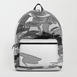 ink splotches Backpack