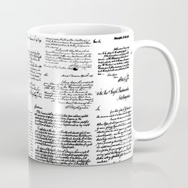 George Washington's Letters Coffee Mug