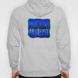Perth Evening Blues Hoody