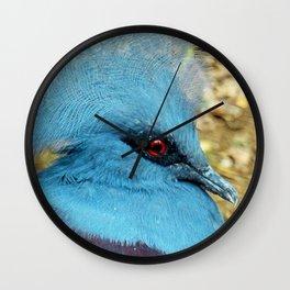 CROWNED PIGEON Wall Clock