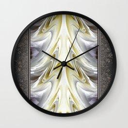 Nonstop Apple Blossom Abstract Wall Clock