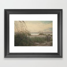 Summer is almost over..... Framed Art Print