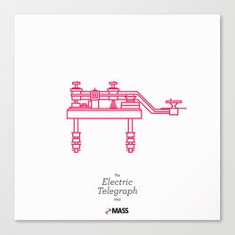 The Electric Telegraph Canvas Print