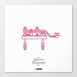 The Electric Telegraph Canvas Print