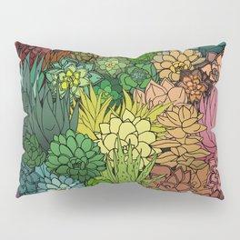 Succulent Garden Rainbow Pillow Sham
