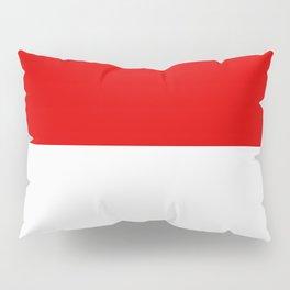 flag of indonesia Pillow Sham