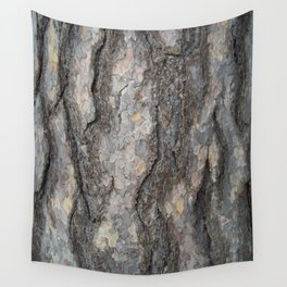 pine tree bark - scale pattern Wall Tapestry