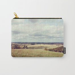 Rural hilly landscape. Carry-All Pouch