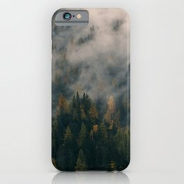 Fog Forest iPhone Case