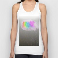 cloud Tank Tops featuring cloud by WilliamFontana