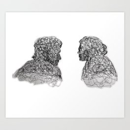 Your Father Would be Proud Line Art Art Print