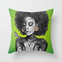 Nahla Throw Pillow
