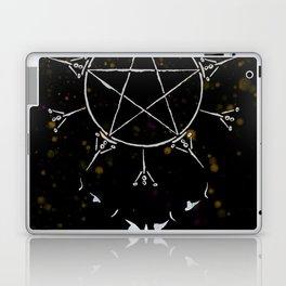 A Tarot of Ink 10 of Pentacles Laptop & iPad Skin