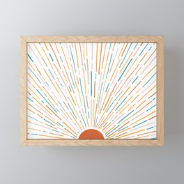 Sunshine All Around Framed Mini Art Print