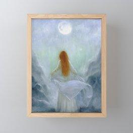 Poetry of the Moon Framed Mini Art Print