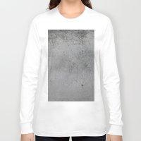 concrete Long Sleeve T-shirts featuring Concrete by Coconuts & Shrimps