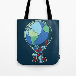 The Weight of the World Tote Bag