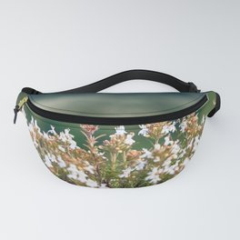 White Blossoms - Colorful Fanny Pack