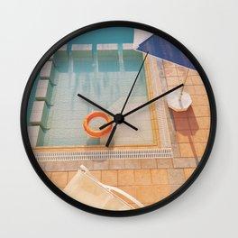 Swimming Pool Wall Clock