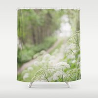 country Shower Curtains featuring Country Road by Pure Nature Photos