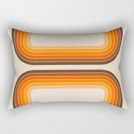 Tan Tunnel Rectangular Pillow