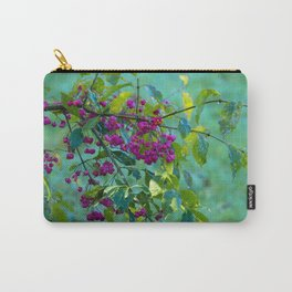 Spindle Tree Branch Carry-All Pouch