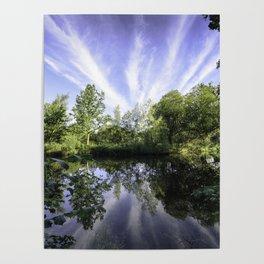 Hatfield Forest Lake England Essex Summer Poster
