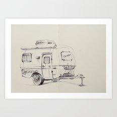Scamper Art Print