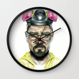 Yo Mr White! Wall Clock