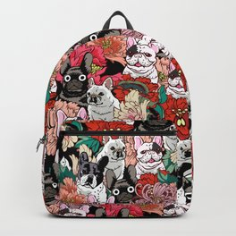 Because French Bulldogs Backpack